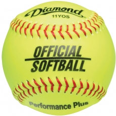 Diamond Performance Plus Official Softball (6 Dozen)
