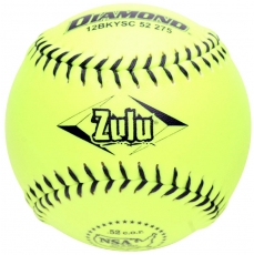"Diamond Zulu Slowpitch Softball 12"" 12BKYSC 52 275 (6 Dozen)"