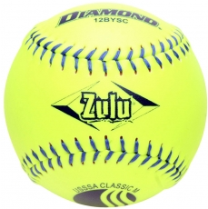 "Diamond Zulu Slowpitch Softball 12"" 12BYSC CLASSIC (6 Dozen)"