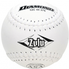 "Diamond Zulu Slowpitch Softball 12"" 12C 44 375 (6 Dozen)"
