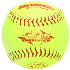 "Diamond Flyer Fastpitch Softball 12"" 12RFPK 47 ASA (6 Dozen)"