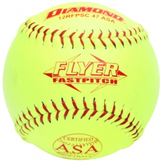 "Diamond Flyer Fastpitch Softball 12"" 12RFPSC 47 ASA (6 Dozen)"