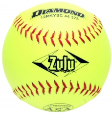 "Diamond Zulu Slowpitch Softball 12"" 12RKYSC 44 375 (6 Dozen)"