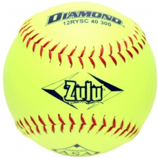 "Diamond Zulu Slowpitch Softball 12"" 12RYSC 40 300 (6 Dozen)"