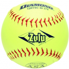 "Diamond Zulu Slowpitch Softball 12"" 12RYSC 40 375 (6 Dozen)"