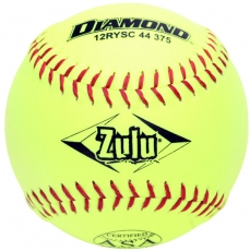"Diamond Zulu Slowpitch Softball 12"" 12RYSC 44 375 (6 Dozen)"