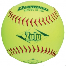 "Diamond Zulu Slowpitch Softball 12"" 12RYSC 52 300 (6 Dozen)"