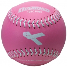 Diamond 12SC PINK Pink Theme Softball (6 Dozen)