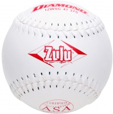"Diamond Zulu Slowpitch Softball 12"" 12WSC 47 375 (6 Dozen)"