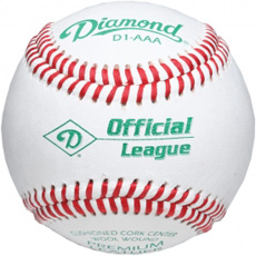 Diamond D1-AAA Official League Baseball (10 Dozen)