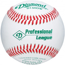 Diamond D1-SHOW Professional League Baseball (10 Dozen)
