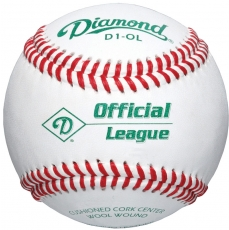 Diamond D1-OL Offical League Baseball 10 Dozen