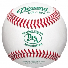 Diamond  DOL-1 BPA Baseball Players Association Baseball 10 Dozen
