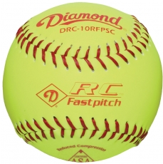 "Diamond RC Fastpitch Softball 10"" DRC-10RFPSC (6 Dozen)"