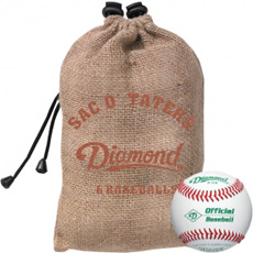 Diamond Sac O' Taters (6 D-OB Baseballs)