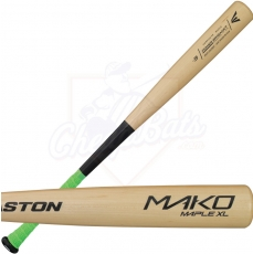 CLOSEOUT Easton Mako Maple XL Wood Baseball Bat -3oz A110226