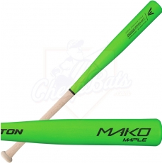 CLOSEOUT Easton Mako Maple Youth Wood Baseball Bat A110232 (Green Barrel)