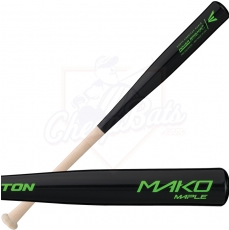 CLOSEOUT Easton Mako Maple Youth Wood Baseball Bat A110231 (Black Barrel)