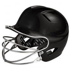 CLOSEOUT Easton Natural Teeball Batting Helmet With Mask A168039