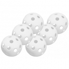 "Easton Plastic Training Balls 9"" Six Pack A162687"
