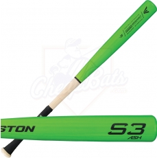 CLOSEOUT Easton S3 Ash Wood Baseball Bat -3oz A110229