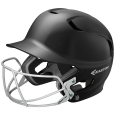 CLOSEOUT Easton Z5 Solid Batting Helmet With Mask Senior/Junior A168082/83