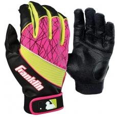 Franklin HEAT WAVE Youth Batting Gloves (Pair)