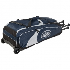 CLOSEOUT Louisville Slugger Series 5 Rig Wheeled Player Equipment Bag EBS514-RG