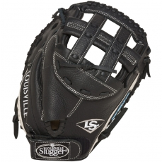 "CLOSEOUT Louisville Slugger Xeno Fastpitch Catchers Mitt 33"" FGXN14-BKCM1"