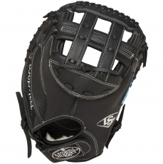 "CLOSEOUT Louisville Slugger Xeno Fastpitch Catchers Mitt 34"" FGXN14-BKCM2"