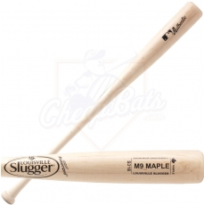 CLOSEOUT Louisville Slugger M9 Maple Wood Baseball Bat WBM914-18CNA