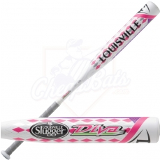 CLOSEOUT Louisville Slugger DIVA Youth Fastpitch Softball Bat -11.5oz FPDV151