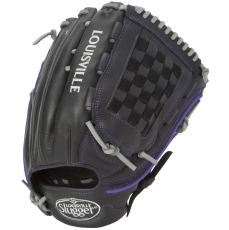 "Louisville Slugger Xeno Black Fastpitch Softball Glove 12.75"" FGXNBK6-1275"