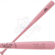 CLOSEOUT Louisville Slugger Pink Maple Wood Baseball Bat - HM110PK