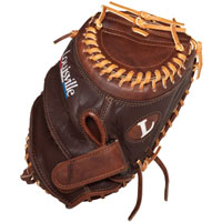 "CLOSEOUT Louisville Slugger Icon Fastpitch Catchers Mitt 32.5"" ICF203"
