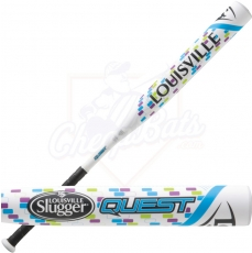 CLOSEOUT Louisville Slugger QUEST Fastpitch Softball Bat -12oz FPQS152