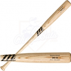 CLOSEOUT Marucci DO34A Ash Pro Wood Baseball Bat Natural