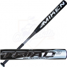 2015 Miken TRIAD 3 BLACKOUT Senior Softball Bat SSUSA Slowpitch SSBTRI