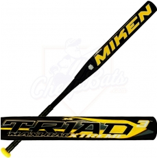 2015 Miken TRIAD 3 Softball Bat XTREME Maxload ASA Slowpitch STR3MA