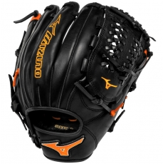 "CLOSEOUT Mizuno MVP Prime SE Baseball Glove 11.75"" Black/Orange GMVP1177PSE2"
