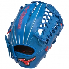 "Mizuno MVP Prime SE Baseball Glove 12.75"" Royal/Red GMVP1277PSE2"