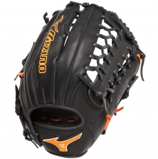 "Mizuno MVP Prime SE Baseball Glove 12.75"" Black/Orange GMVP1277PSE2"