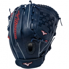 "Mizuno MVP Prime SE Fastpitch Softball Glove 12"" Navy/Red GMVP1200PSEF1"