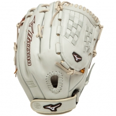 "Mizuno MVP Prime SE Fastpitch Softball Glove 12.5"" Silver/Brown GMVP1250PSEF1"