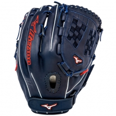 "Mizuno MVP Prime SE Fastpitch Softball Glove 12.5"" Navy/Red GMVP1250PSEF1"
