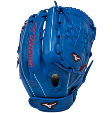"Mizuno MVP Prime SE Fastpitch Softball Glove 12.5"" Royal/Red GMVP1250PSEF1"