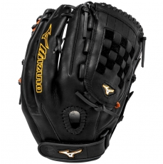 "Mizuno MVP Prime SE Fastpitch Softball Glove 13"" Black/Orange GMVP1300PSEF1"