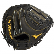 "Mizuno Pro Limited Edition Catchers Mitt 33.5"" GMP200BK"