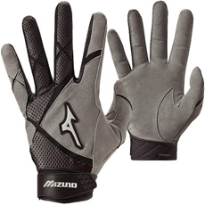 Mizuno Adult Power X G3 Batting Glove (Pair) 330262