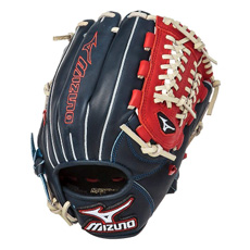 "Mizuno MVP Prime SE Series Baseball Glove 11.5"" Navy/Red GMVP1154PSE"